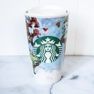 Starbucks 2015 12oz Tumbler World Map